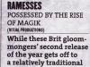 Kerrang - Best of 2011 article